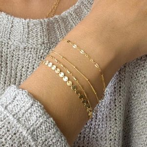 Jewelry - Bohemia Multilayer Chain Bracelets Or Anklets